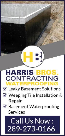 leaky wet basement repair niagara st catharines fort erie grimsy